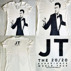Justin Timberlake 20/20 2013 Concert Tour shirt S